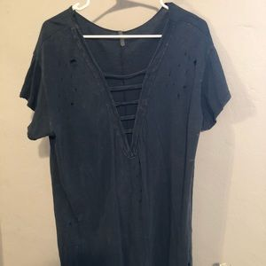 Dresses & Skirts - Oversized T-shirt dress